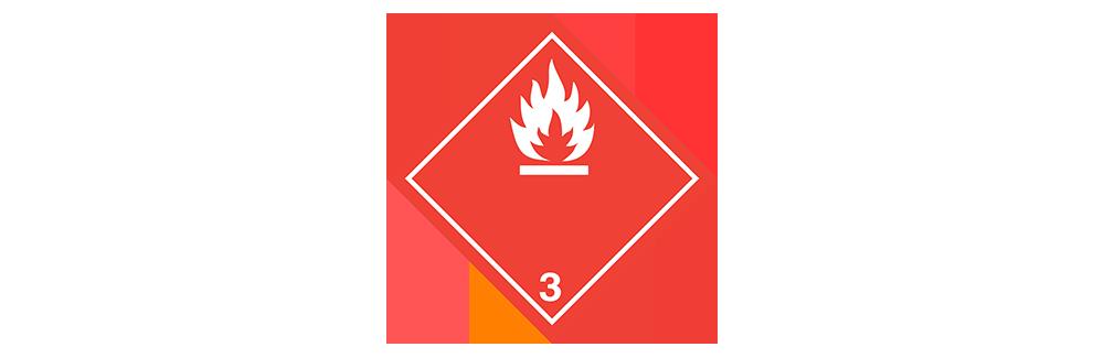 hazardous material class 3 flammable liquids