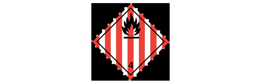 hazardous material class 4.1 flammable solids
