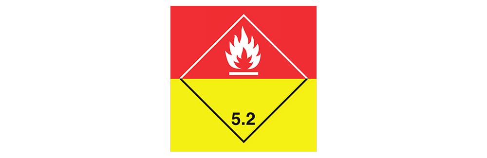 hazardous material class 5.2 organic peroxides