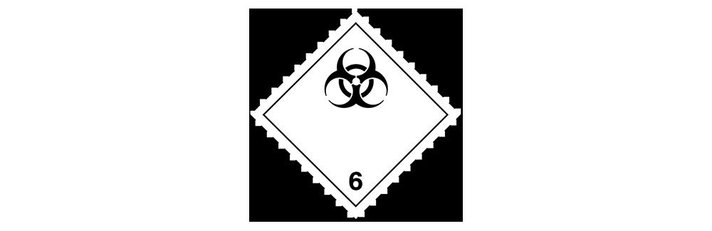 hazardous material class 6.2 biohazard