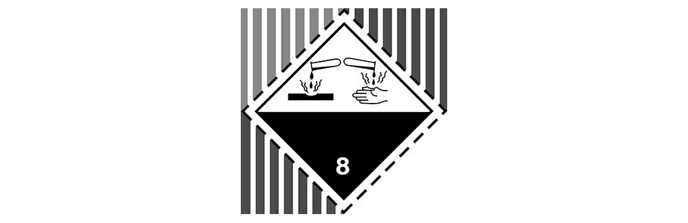 hazardous material class 8 corrosive