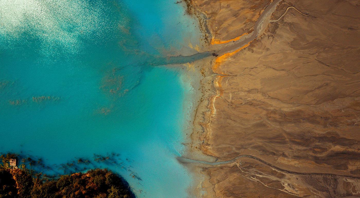 Superfund Site Aerial View