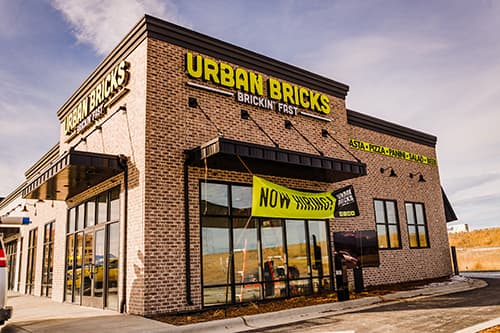 Urban Bricks Multi-tenant building, Kalispell, Montana