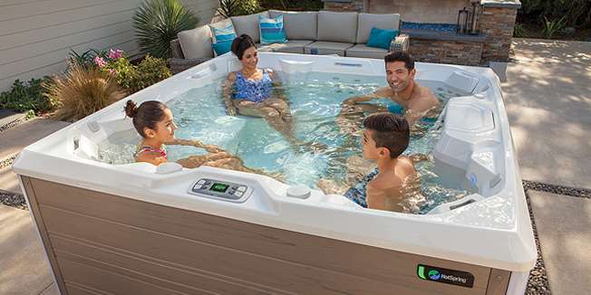 Hot Spring Hot Tubs Limelight Collection