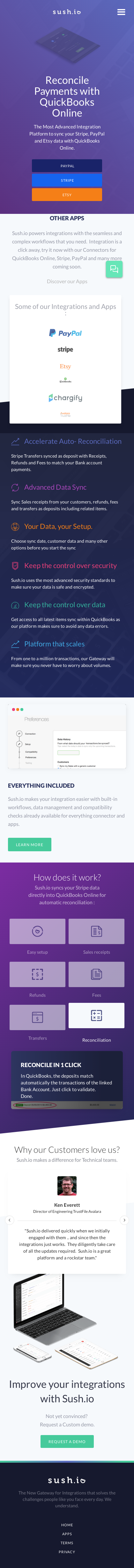Example of Design for Finance, Accounting & Auditing, Mobile Landing Page by sush.io | Mobile Landing Page Design
