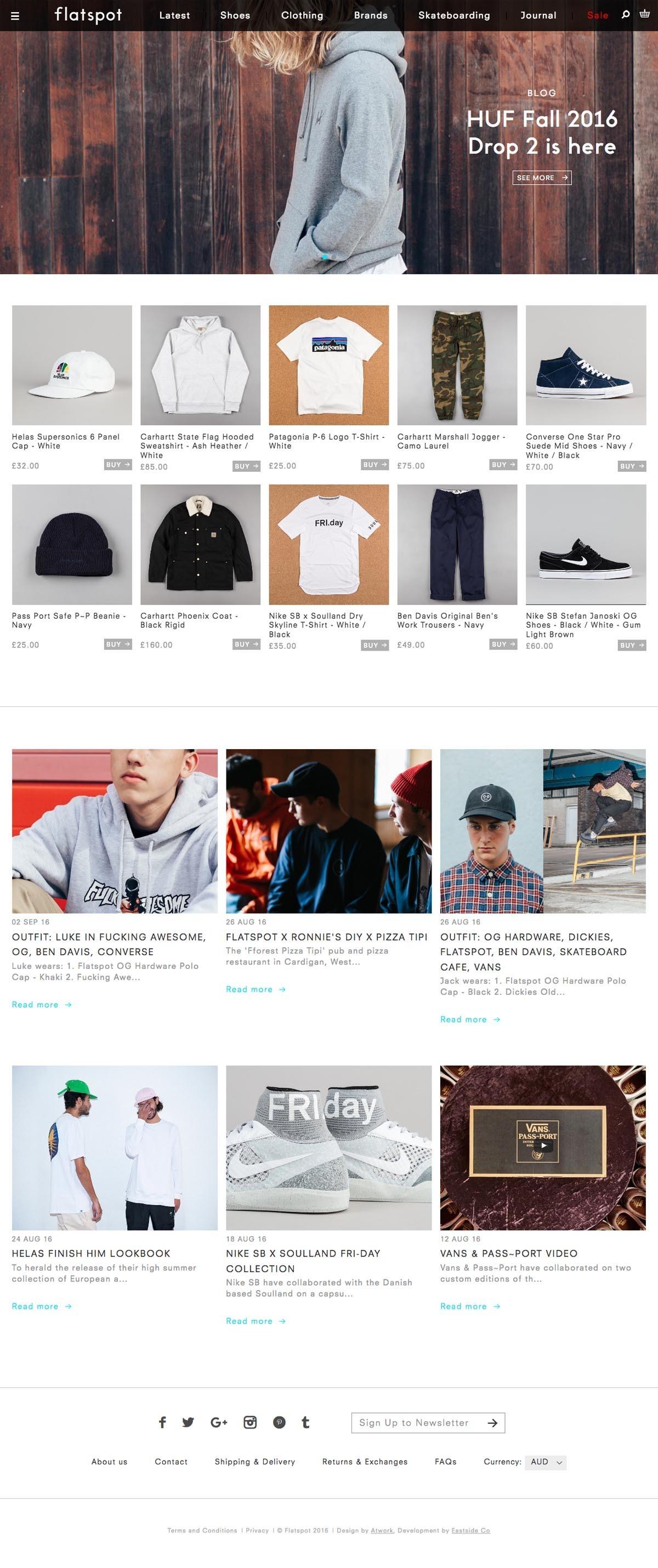 best website bc151 101d4 Ecommerce Example  flatspot.com