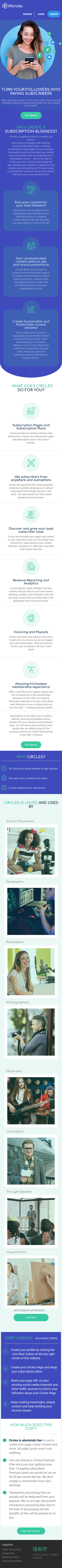Example of Design for Business & Industrial, Mobile Landing Page by 99circles.com   Mobile Landing Page Design