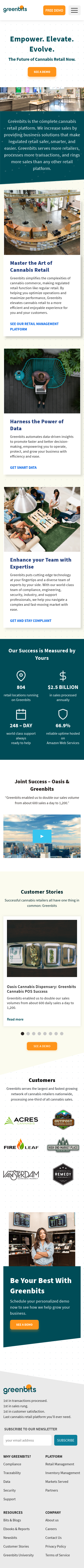 Example of Design for Business & Industrial, Mobile Landing Page by greenbits.com | Mobile Landing Page Design
