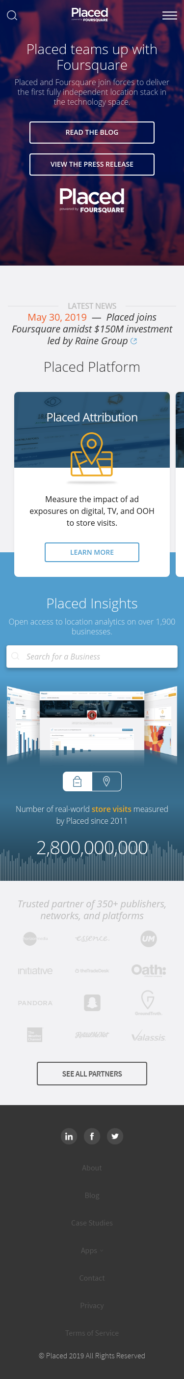 Example of Design for Uncategorized, Mobile Landing Page by placed.com | Mobile Landing Page Design