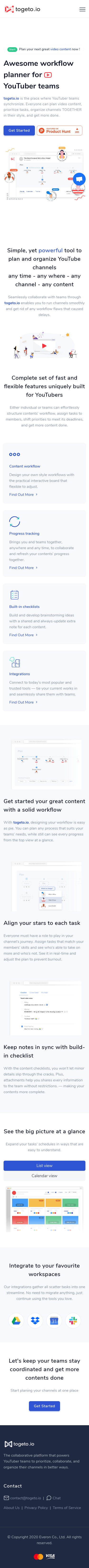 Example of Design for Computers & Electronics, Software, Mobile Landing Page by togeto.io | Mobile Landing Page Design