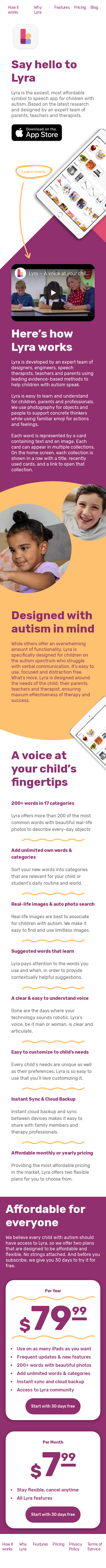 Example of Design for People & Society, Mobile Landing Page by getlyra.com | Mobile Landing Page Design