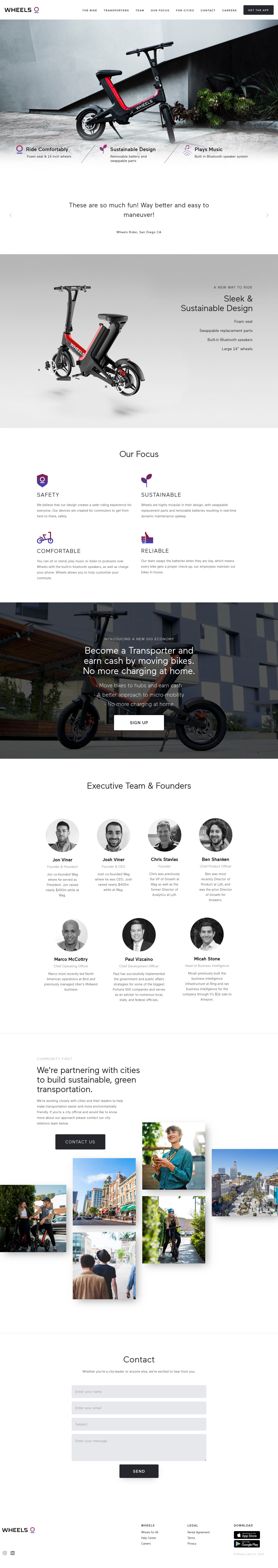 Example of Design for Autos & Vehicles, Mobile Landing Page by takewheels.com | Mobile Landing Page Design