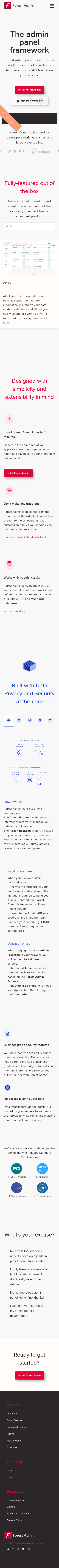 Example of Design for Computers & Electronics, Mobile Landing Page by forestadmin.com-V2 | Mobile Landing Page Design