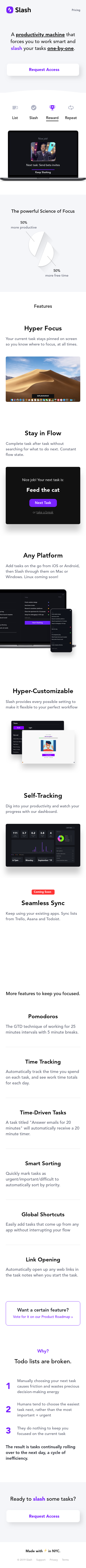 Example of Design for Computers & Electronics, Software, Business & Productivity Software, Mobile Landing Page by getslash.co | Mobile Landing Page Design