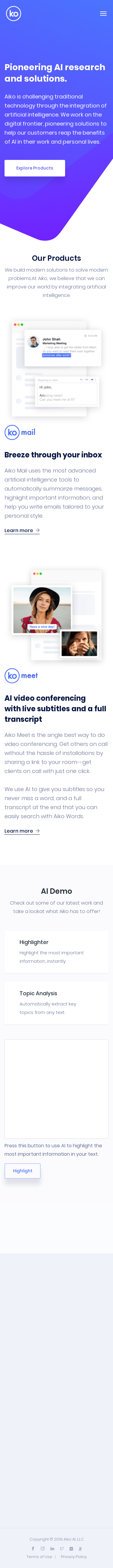 Example of Design for Uncategorized, Mobile Landing Page by helloaiko.com | Mobile Landing Page Design
