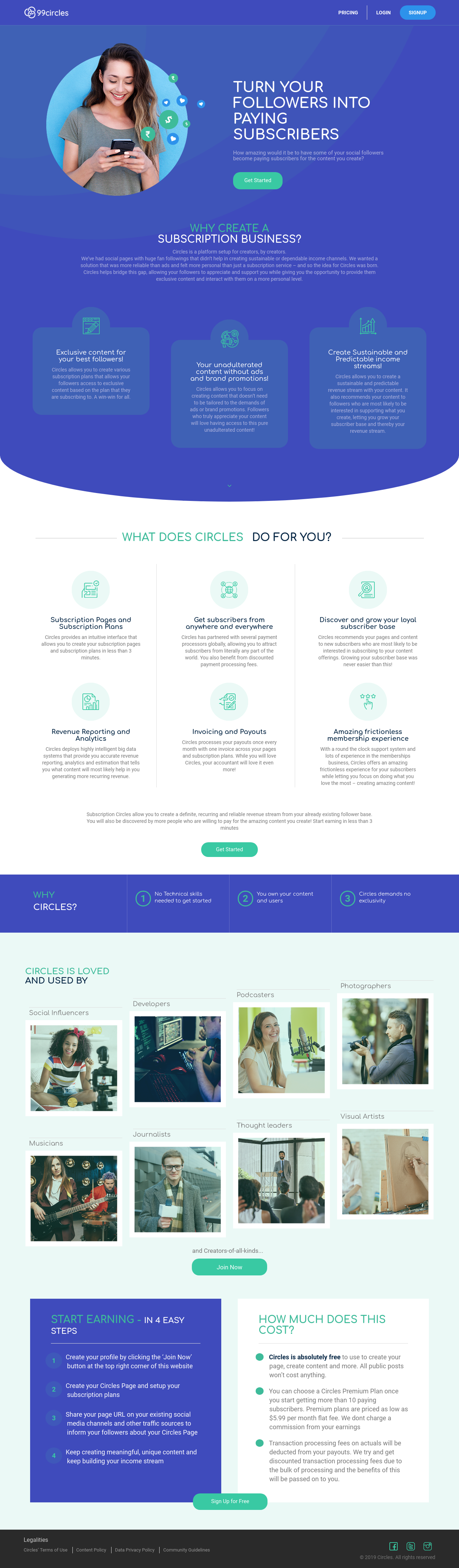 Example of Design for Business & Industrial, Landing Page by 99circles.com | Landing Page Design