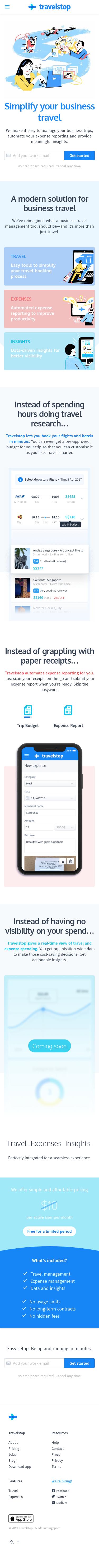 Example of Design for Finance, Mobile Landing Page by travelstop.com | Mobile Landing Page Design