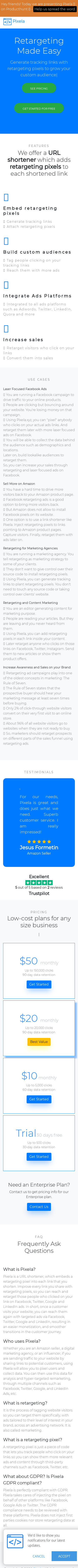 Example of Design for Business & Industrial, Business Services, Mobile Landing Page by pixela.xyz   Mobile Landing Page Design