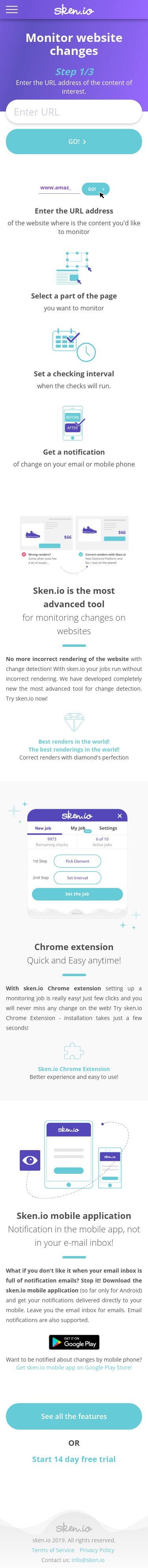 Example of Design for Computers & Electronics, Mobile Landing Page by sken.io | Mobile Landing Page Design