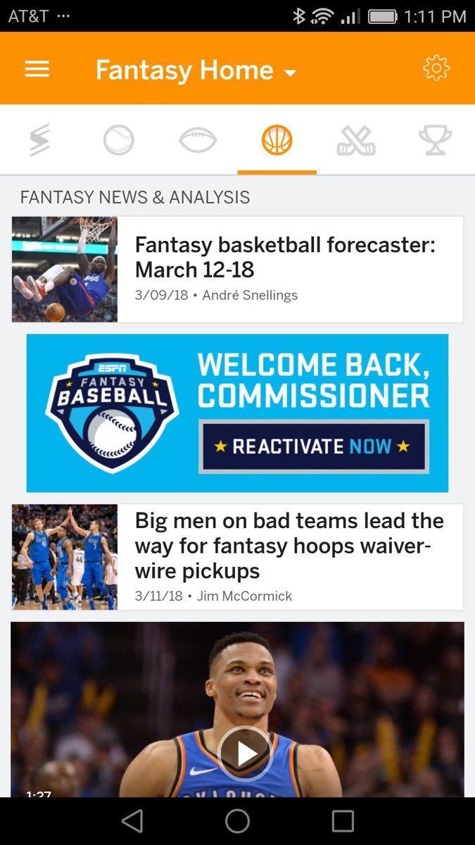 ESPN Fantasy