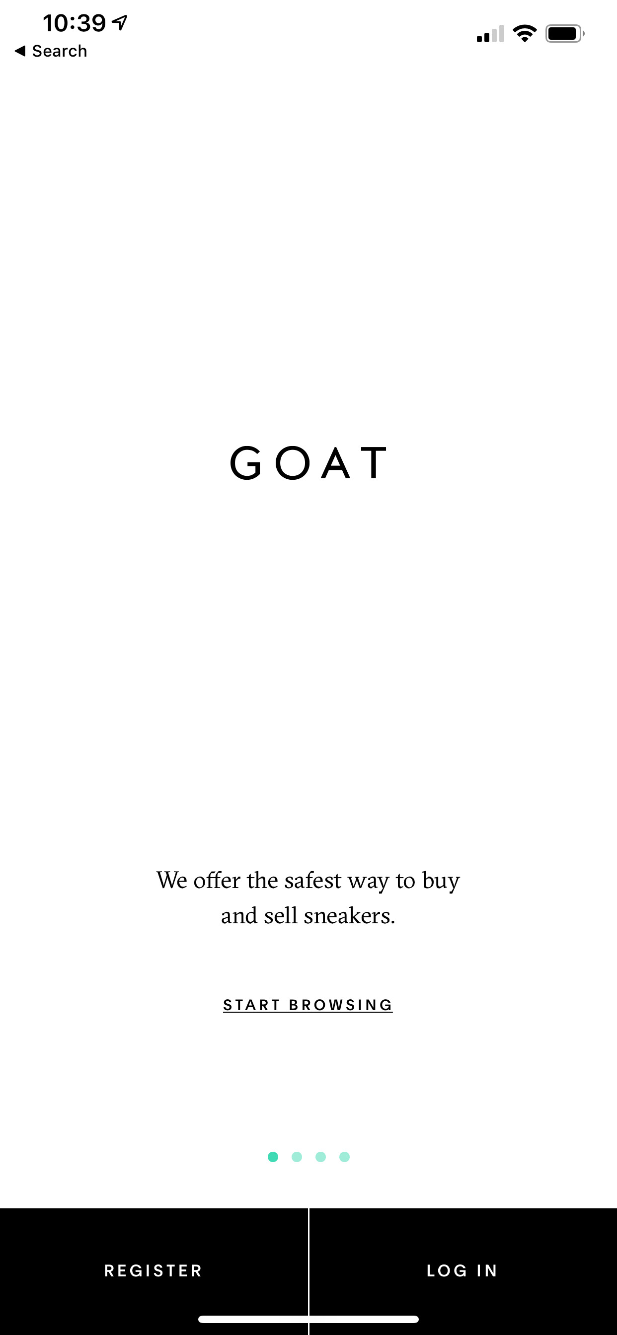 Goat (iPhone X)
