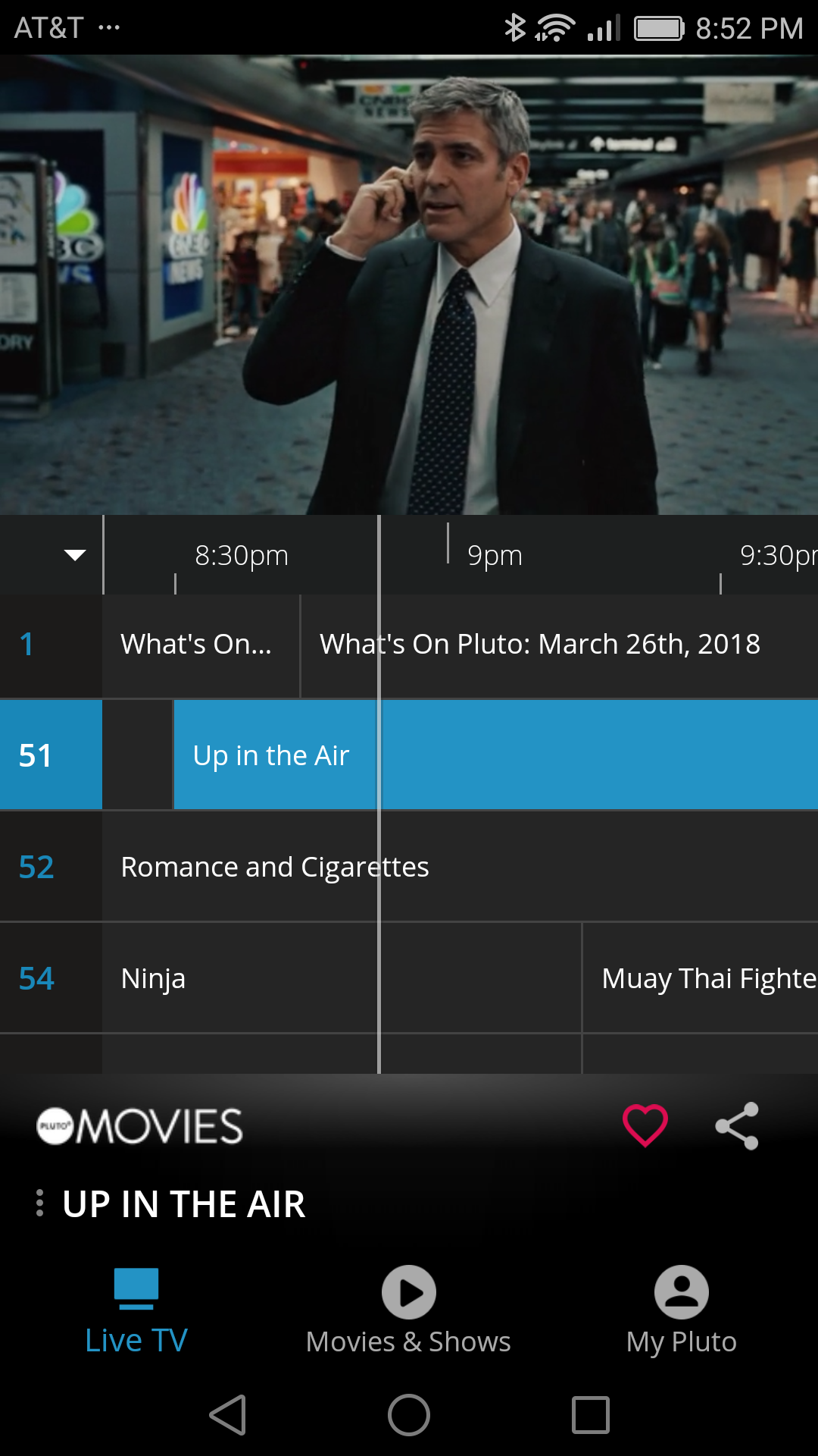 PlutoTV (Android)