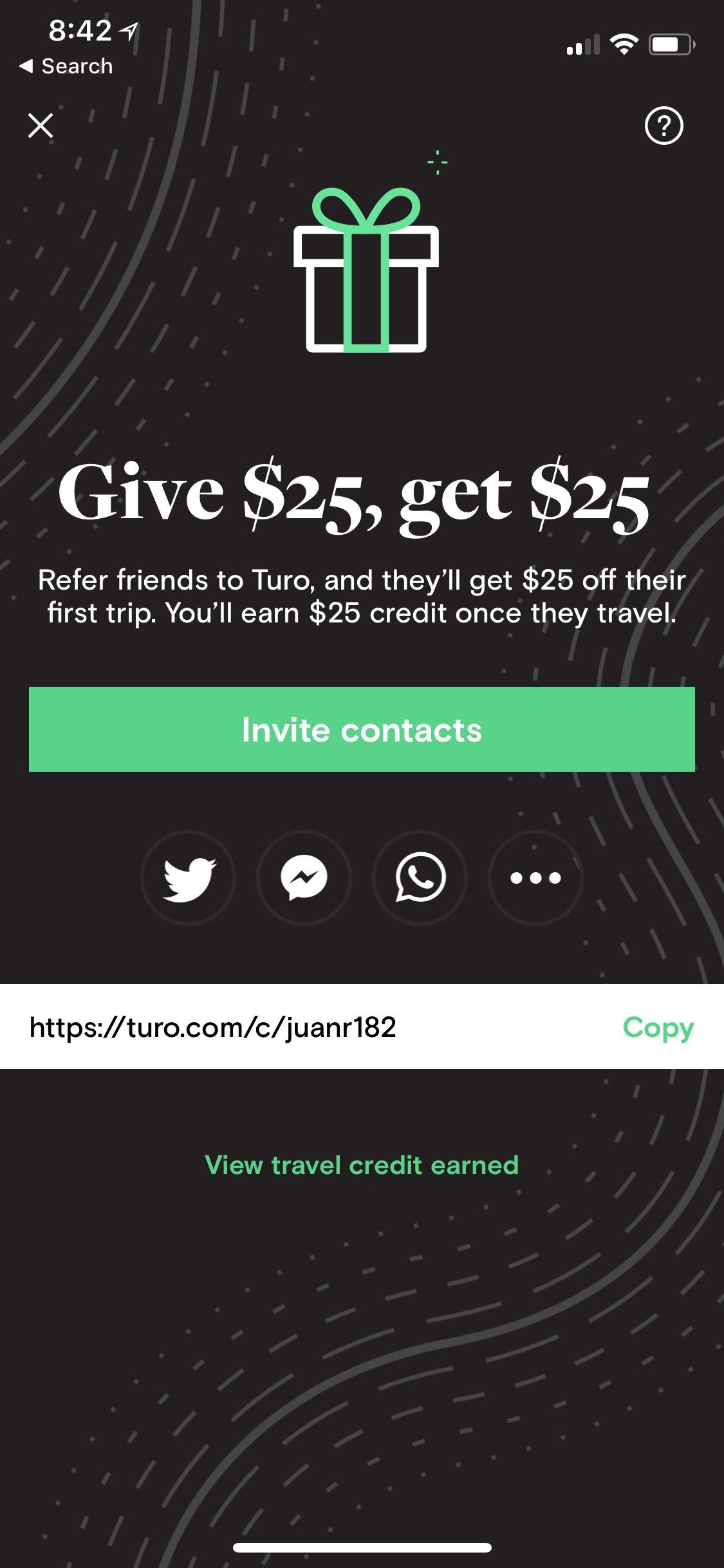Turo (iPhone X)