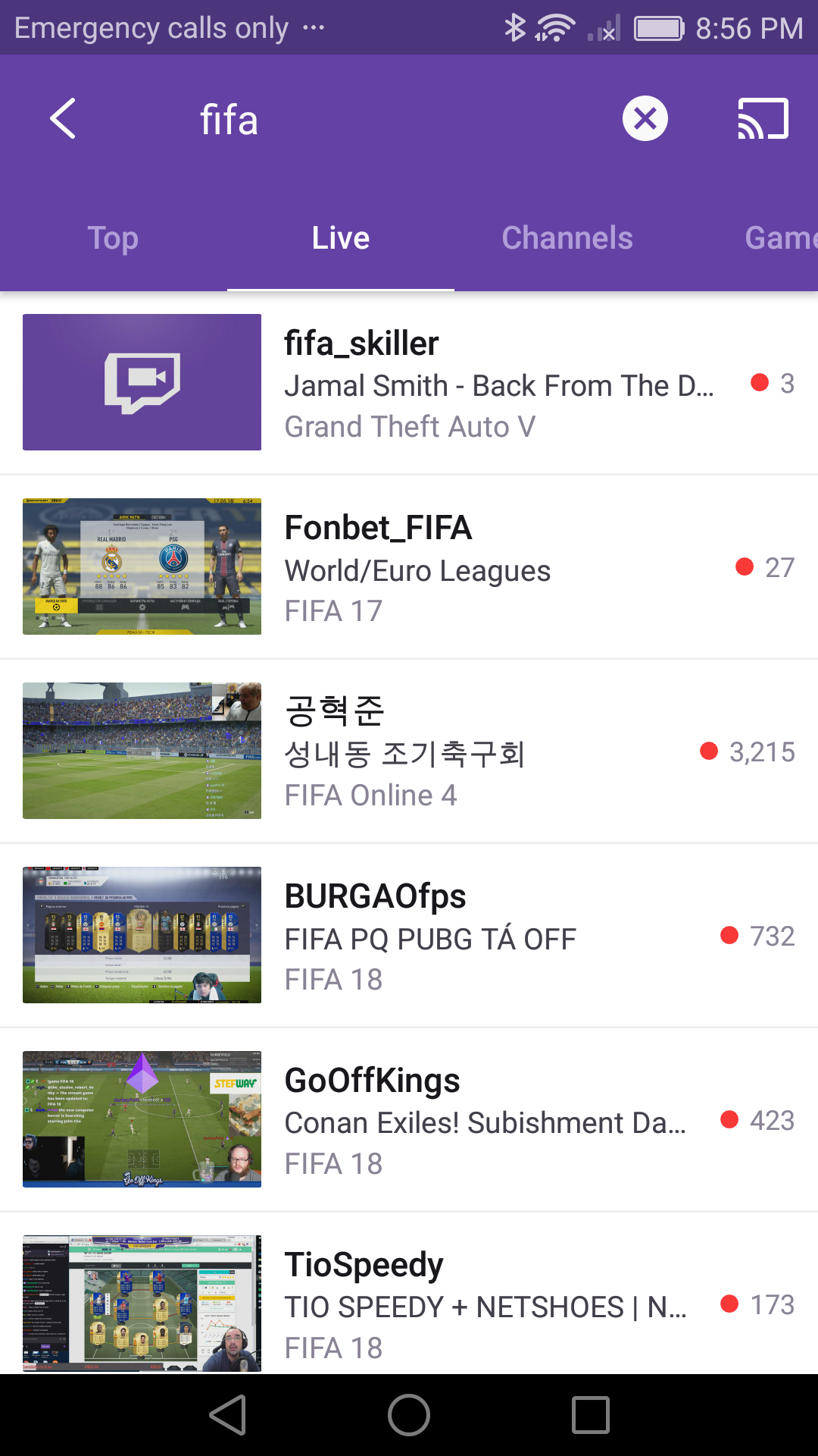 Twitch (Android)