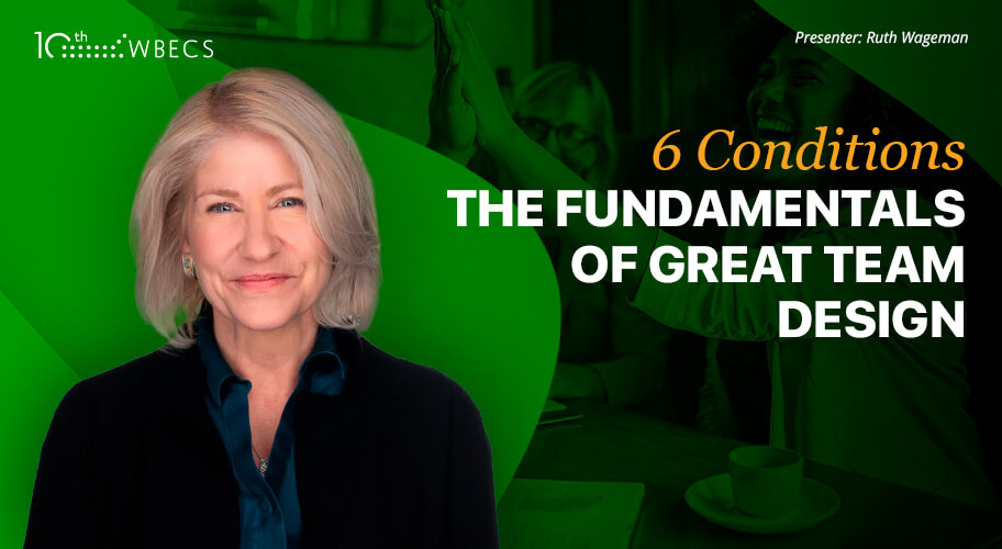 6 Conditions: The Fundamentals of Great Team Design Photo