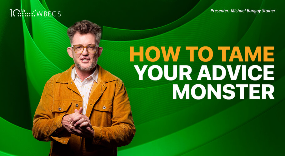 How to Tame your Advice Monster Photo