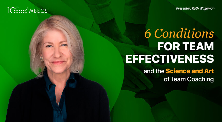 6 Conditions for Team Effectiveness and the Science and Art of Team Coaching Photo