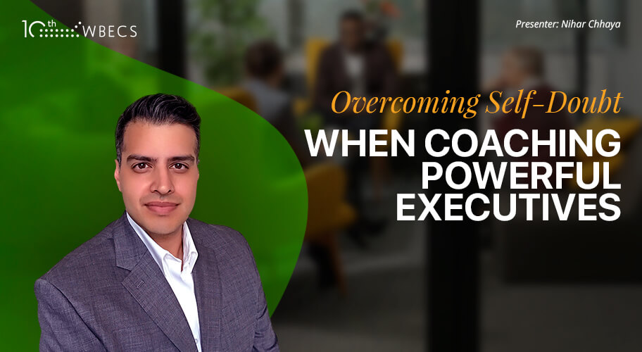 Live Coaching Demonstration with Nihar Chhaya: Overcoming Self-Doubt When Coaching Powerful Executives Photo