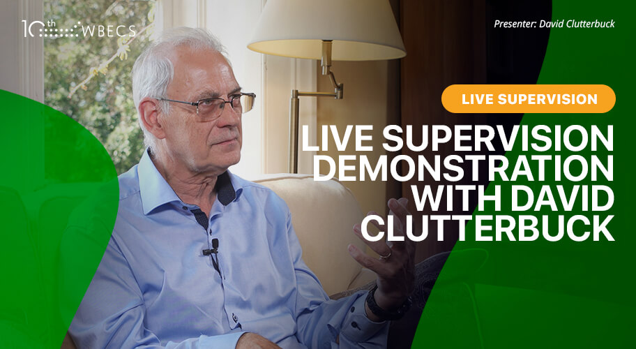 Live Coaching Supervision Demonstration with David Clutterbuck Photo