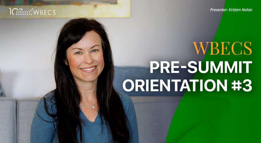 WBECS Pre-Summit Orientation 3 Photo