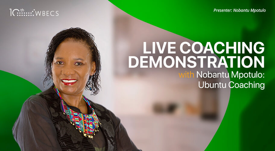 Live Coaching Demonstration with Nobantu Mpotulo: Ubuntu Coaching Photo