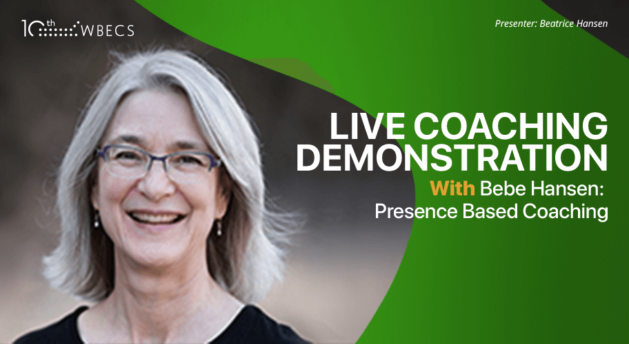 Live Coaching Demonstration With Bebe Hansen: Presence Based Coaching Photo