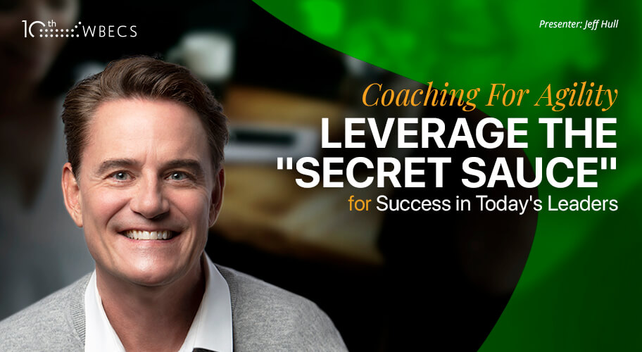 Coaching For Agility: Leverage the