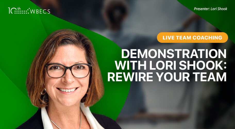Live Team Coaching Demonstration with Lori Shook: Rewire Your Team Photo