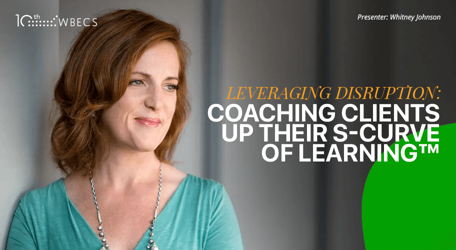 Leveraging Disruption: Coaching Clients Up Their S-Curve of Learning Photo