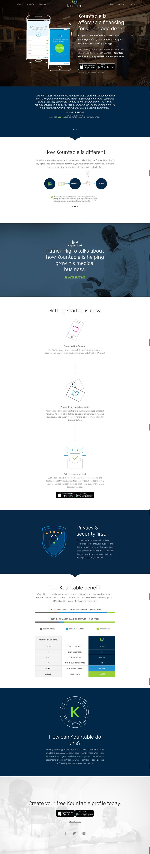Kountable Website Design