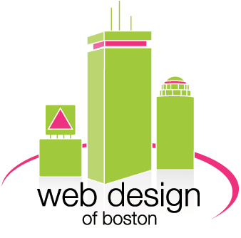 Web Design of Boston logo
