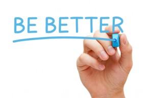 Be Better in Blue Marker