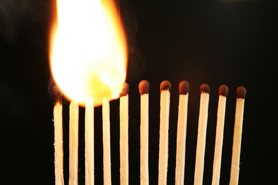 Fire Flames - Matches
