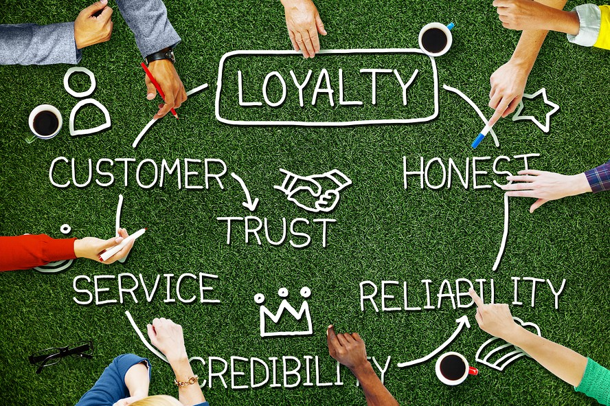 customer loyalty concept