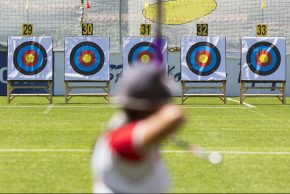 Focus on the Target - Staying on Task Concept