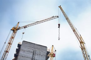 Construction Cranes - Strong Foundation