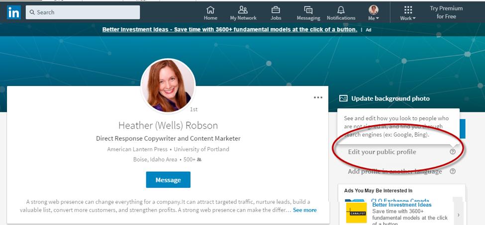 LinkedInProfile-SocialMedia