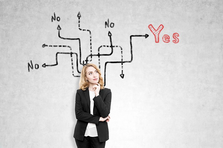 business-woman-yes-or-no-decisions-160784408