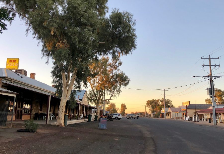Main street in Tibooburra