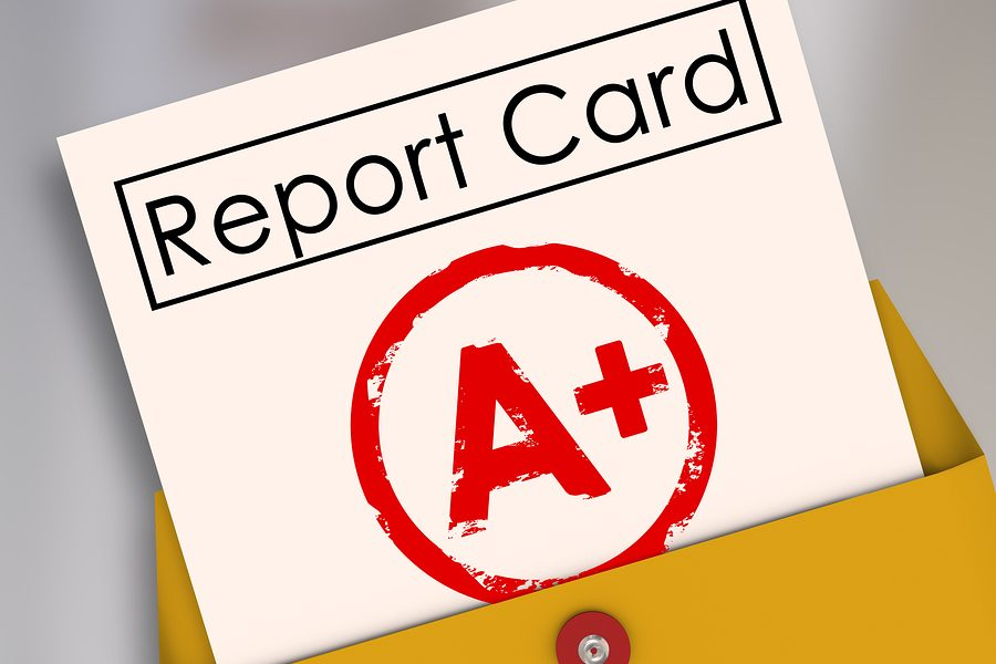 Report Card - A+